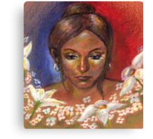Flore Canvas Print