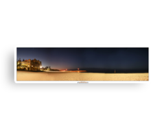 Cottesloe Night Canvas Print