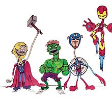 Spindleneck. (The Avengers) by Annoyedbox
