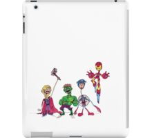 Spindleneck. (The Avengers) iPad Case/Skin