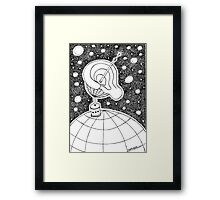 Big Ear Framed Print