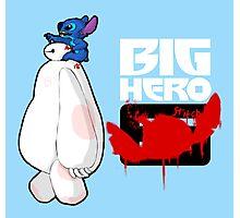 Big Hero Stitch Photographic Print