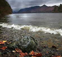 Derwent Water Shorebreak As Storm Approaches by rennaisance