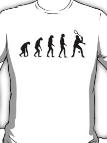 Evolved to Play Tennis T-Shirt