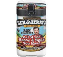 Ron Swanson's Ice Cream Samsung Galaxy Case/Skin