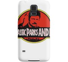 Jurassic Parks and rec Samsung Galaxy Case/Skin