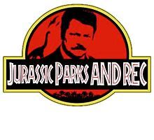 Jurassic Parks and rec by mdurigon