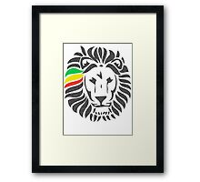 Lion Order LRG Framed Print