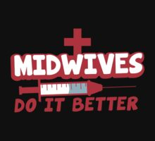 Midwives do it better! with needle by jazzydevil