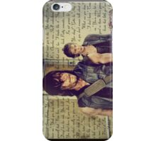 Caryl quote merchandise  iPhone Case/Skin