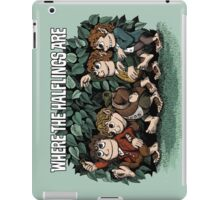 Where the Halflings Are iPad Case/Skin