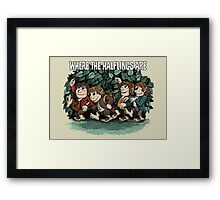 Where the Halflings Are Framed Print