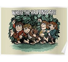 Where the Halflings Are Poster