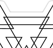 Cashmere Cat - Black Sticker