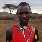 Masai Man by ApeArt