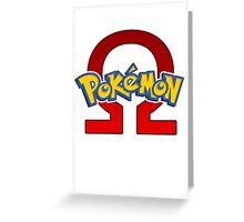 Pokemon Omega Ruby Greeting Card
