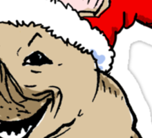 Frenchie Clause Sticker