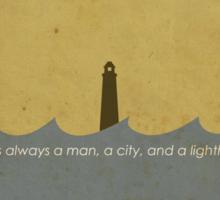 Bioshock: There's always a man... Sticker