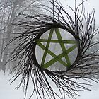 Winter pentagram by vikinggirl