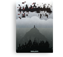 Bioshock Infinite: Rapture & Columbia Canvas Print
