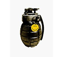Bad Company Grenade Photographic Print