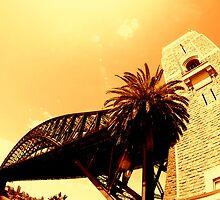 sydney harbour bridge... by Jarrod Lees