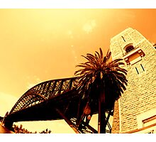 sydney harbour bridge... Photographic Print