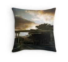 Great Ocean Road Throw Pillow