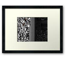 Unsecured Framed Print