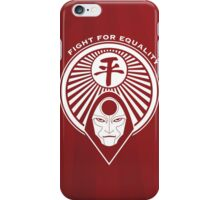 Fight for Equality with Amon iPhone Case/Skin