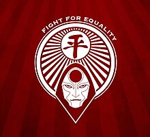 Fight for Equality with Amon by Daniel Cross