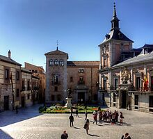 Plaza de la Villa, Madrid by Tom Gomez