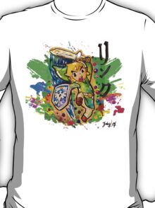 Epic Link Streetart Tshirts + More ' Legend of Zelda ' T-Shirt