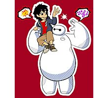Big Hero 6 - Fist Bump Photographic Print