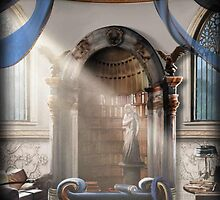 Ravenclaw Common Room by Serdd