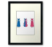 Aurora Dress Framed Print