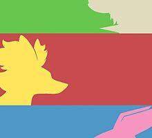Pokemon Starters -  Gen 6 by TipsyKipsy