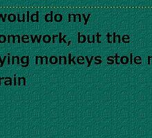 Flying Monkeys by bensibner