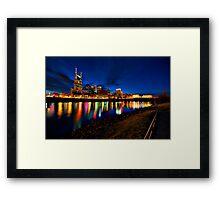 River of Lights Framed Print