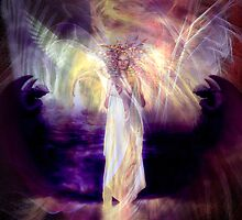 Rose Moxon and Helene Kippert - Solstice Angel by helene