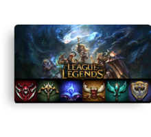 League of Legends Canvas Print