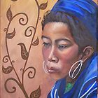 thai girl by Leanne Inwood