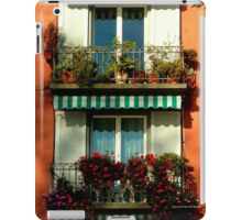 Pretty Swiss Window Box iPad Case/Skin
