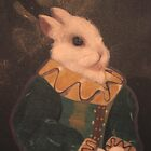 The Rabbit Painting by Mpenrose