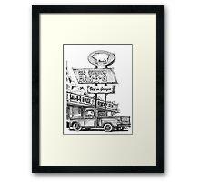 BBQ Framed Print