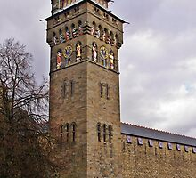 Cardiff Castle Clock Tower A by VikingVisual