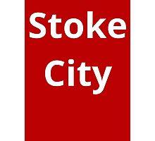 Stoke City Photographic Print