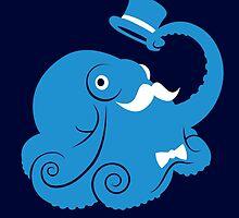 Sir Octopus by amorphia