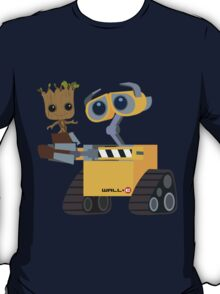WALL-E and Groot T-Shirt