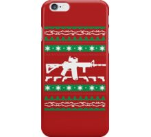 AR-15 Ugly Christmas Sweater iPhone Case/Skin